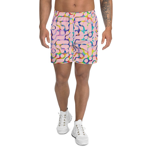 Marilyn in the Sky With Diamonds Athletic Long Shorts