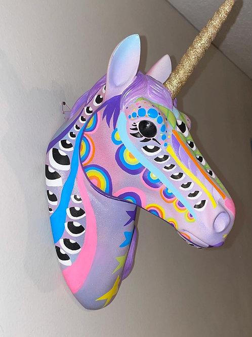 Rainbow Unicorn Wall Art