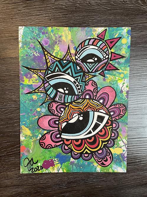 Energy Totem - Original Painting
