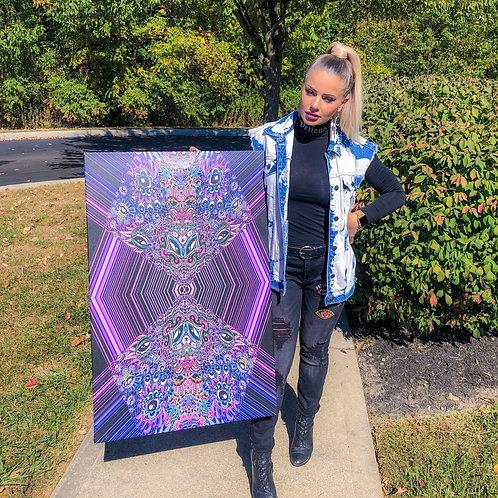Spirit of the Totem Canvas Print