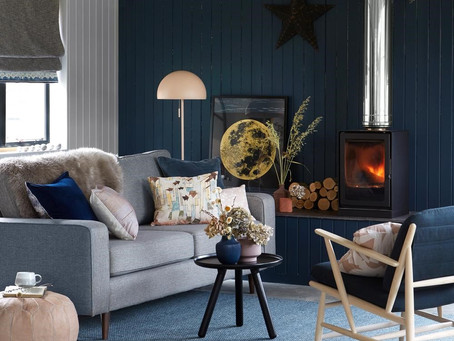 A little colour reflects your personality and nature,so choose your own colour for your living room