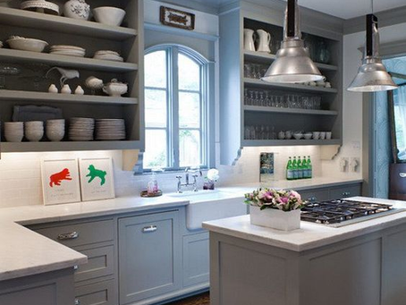 cooking makes you happy: make your kitchen happy as well with different colour combinations