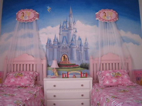 Let your kids adore themselves with the beautiful dreams in their gorgeous bedrooms;