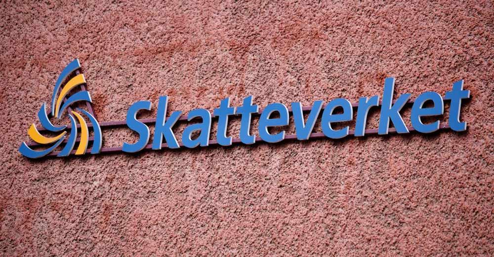 İsveç Vergi Sistemine tescil.