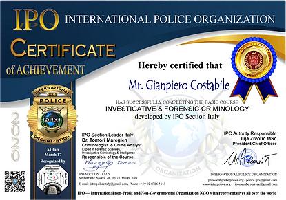 Course Certificate Gianpiero Costabile.p