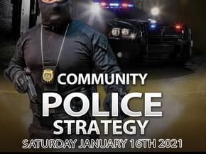Community Police Strategy Course Kuwait 16 Jan 2021