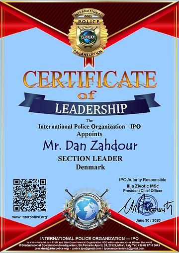 Dan Zahdour IPO Section leader Denmark.p