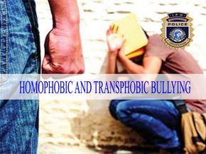HOMOPHOBIC AND TRANSPHOBIC BULLYING