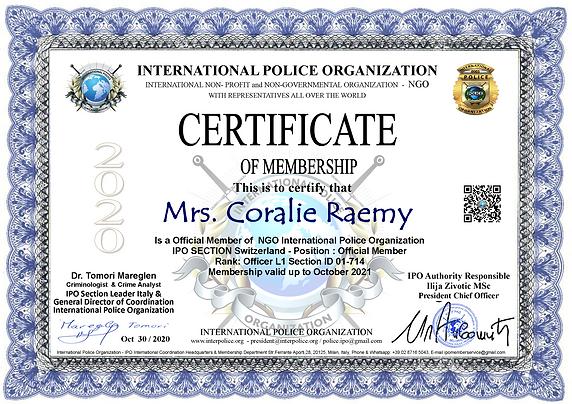 IPO Membership Cert. Coralie Raemy.png
