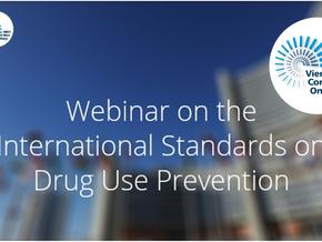 Webinar on the International Standards on Drug Use Prevention