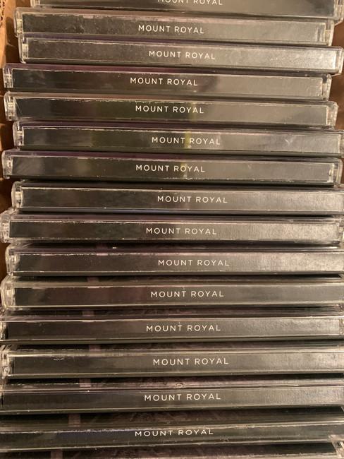 Mount Royal CD Spines.JPG