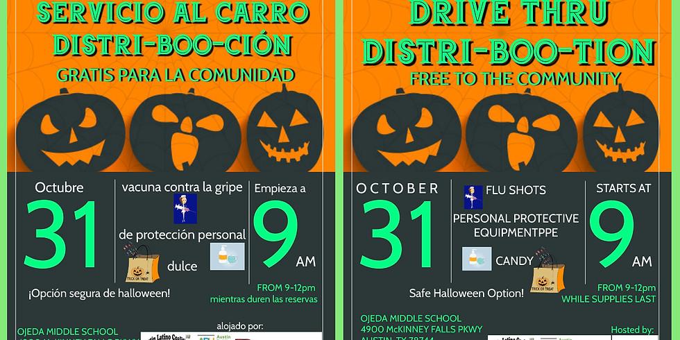 Halloween Theme PPE Distribution