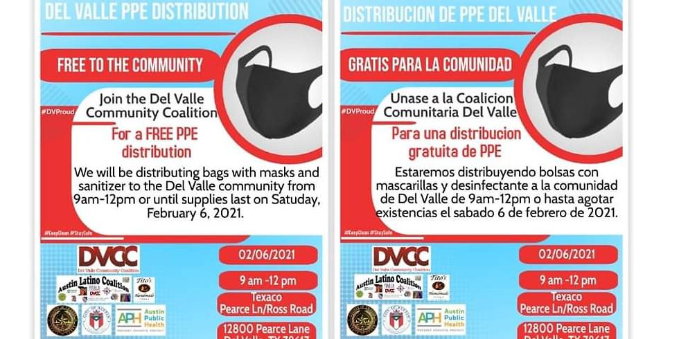 PPE Distribution 2/06/2021