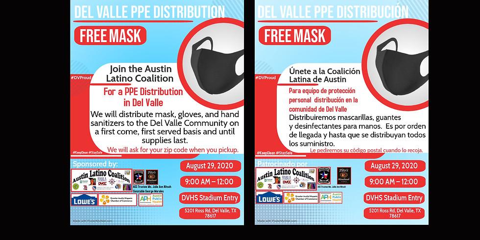 Del Valle PPE Distribution