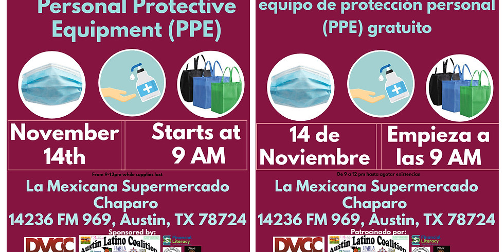 Free Personal Protective Equipment (PPE)