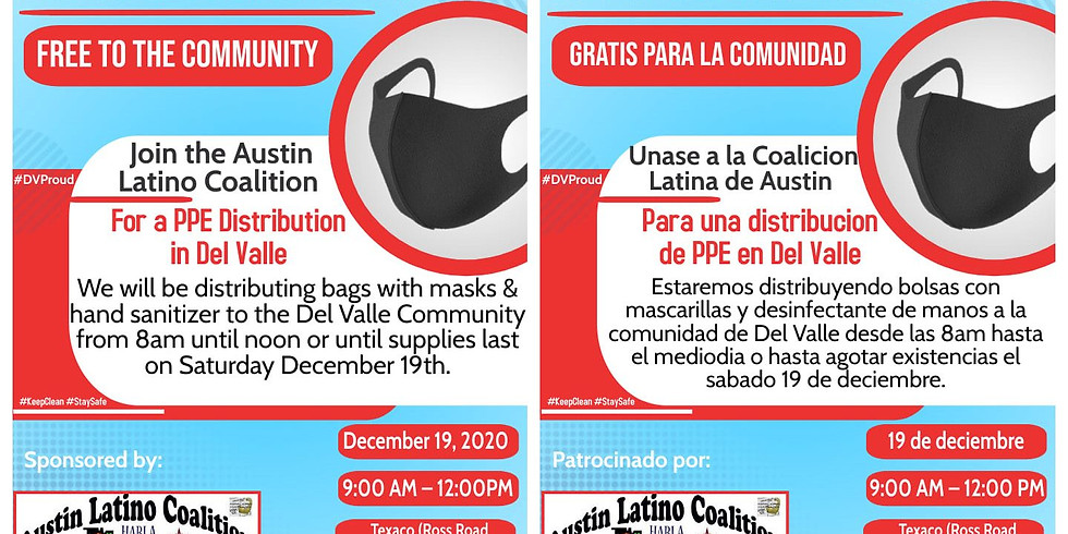 Free Personal Protective Equipment (PPE) 12/19/2020