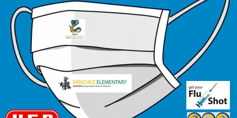 FREE PPE Supplies & Flu Shots Event at Metz/Sanchez Elementary School