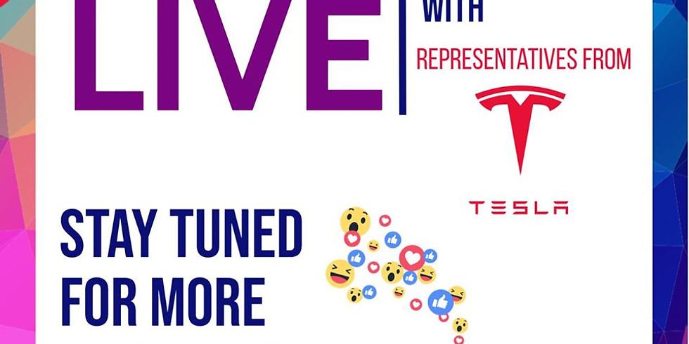 Live Meeting with Tesla Representatives
