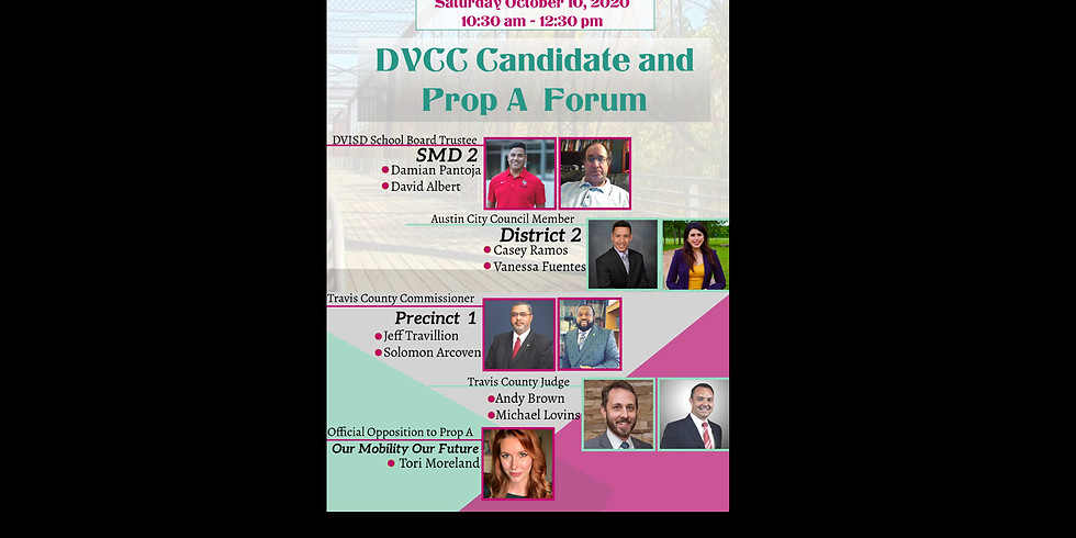 DVCC Candidate Forum