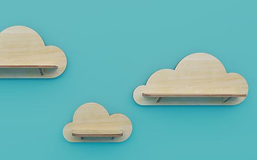 מדפי עננים לילדים, מדפים בצורת ענן, מדפים בצורת עננים לחדרי ילדים, מדפים מעץ לילדים, מדפי עץ לחדרי ילדים, עננים דקורטיבים לילדים, עיצוב חדרי ילדים, קידזו