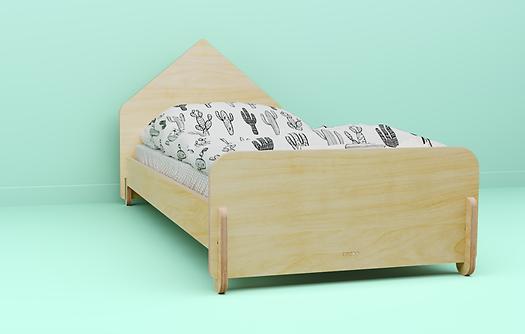 מיטת ילדים בצורת בית, מיטת ילדים, ריהוט לחדרי ילדים, ריהוט מעץ לילדים, עיצוב חדרי ילדים, קידזו, ריהוט מעץ לילדים, מיטת בית