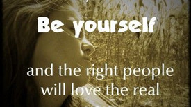 Don't change yourself so that others will like you...