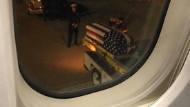 """""""My plane landed in Oklahoma City last night. When we stopped at the terminal, the pilot announced"""