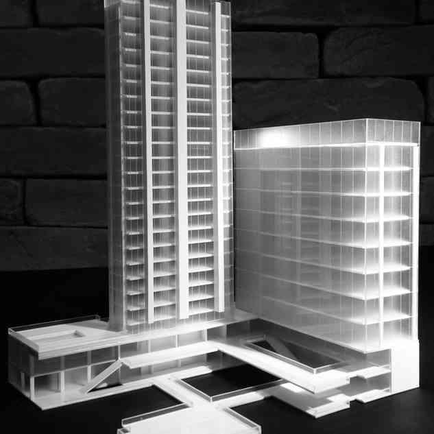 Maquete de Edifício Corporativo