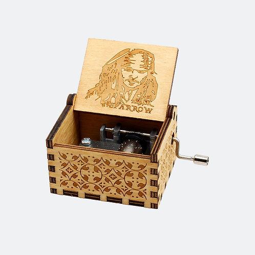 Caixa de Música Jack Sparrow