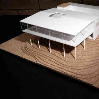 Maquete Casa de Vidro da Arquiteta Lina Bo Bardi