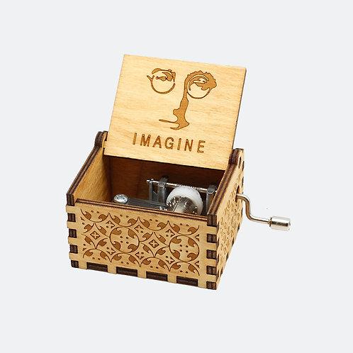 Caixa de Música Imagine - John Lennon