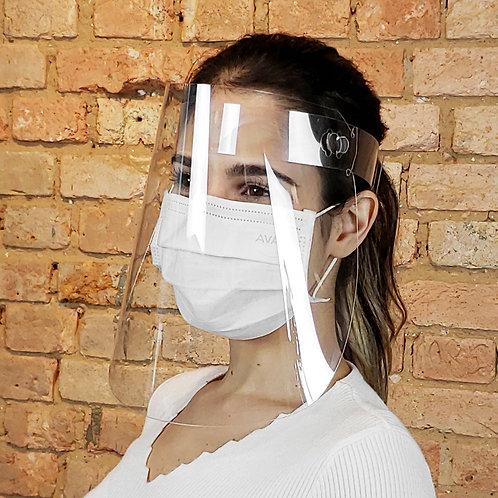 Protetor Facial - 10 Unidades