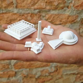 IMPRESSAO-3D-MAQUETE-PECAS-BRANCO-FILAME