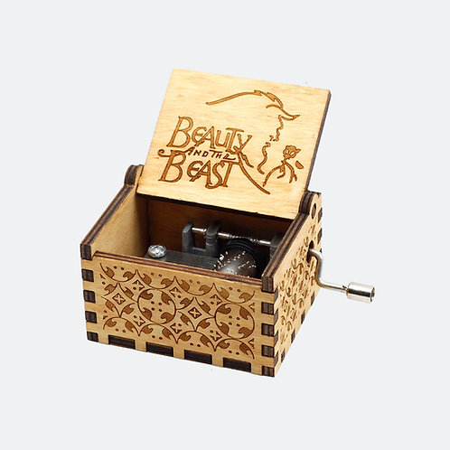 Caixa de Música A Bela e a Fera