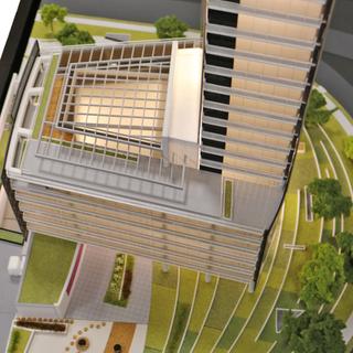 Maquete do Edifício Berrini One - Aflalo / Gasperini Arquitetos