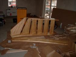 Beginn Treppenmontage