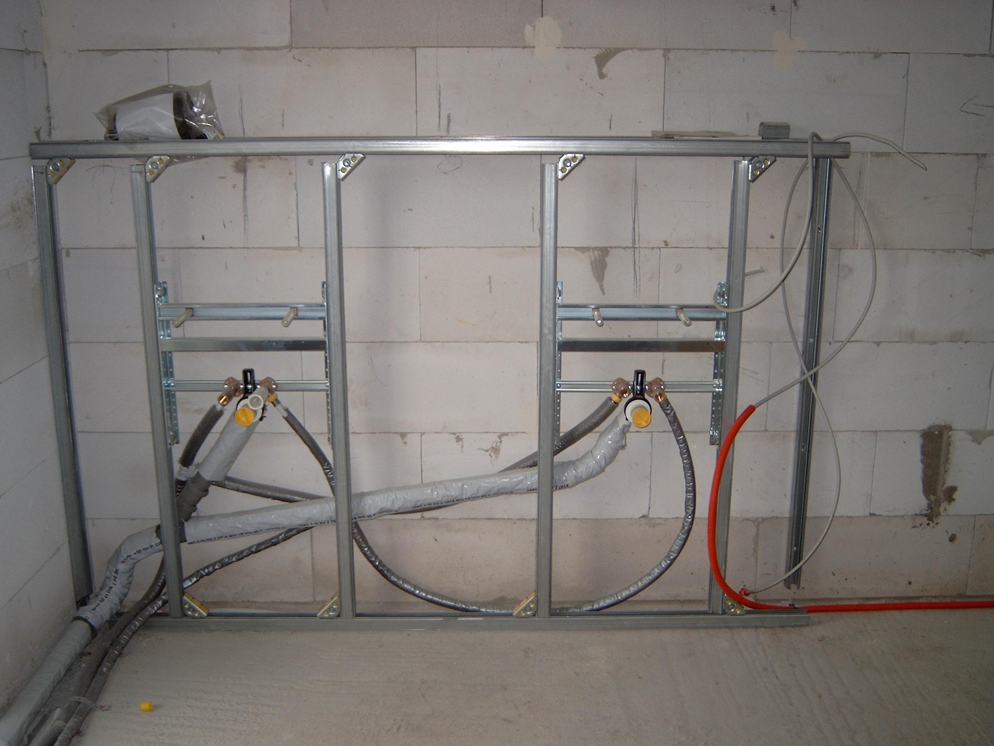 Unterkonstruktion Waschtische