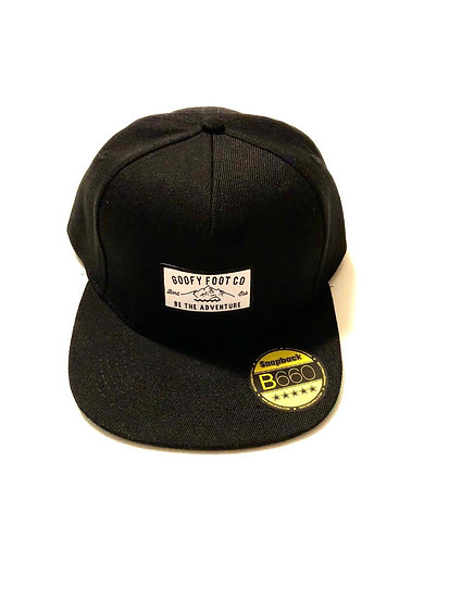 THE ALPINE SNAPBACK (Black)