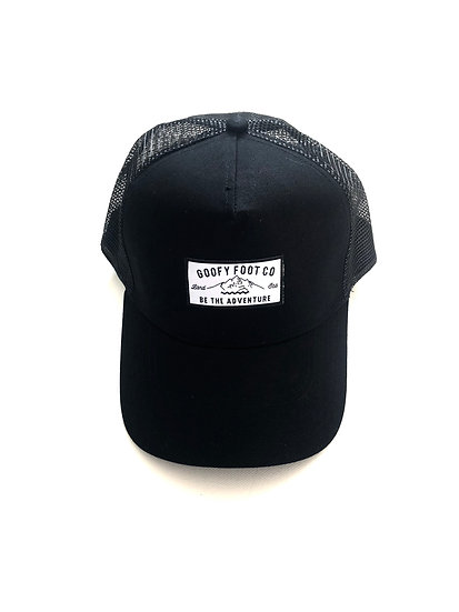 THE BLACK ALPINE TRUCKER
