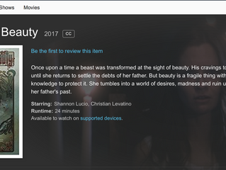 """Consuming Beauty"" Available on Amazon Prime!!!"