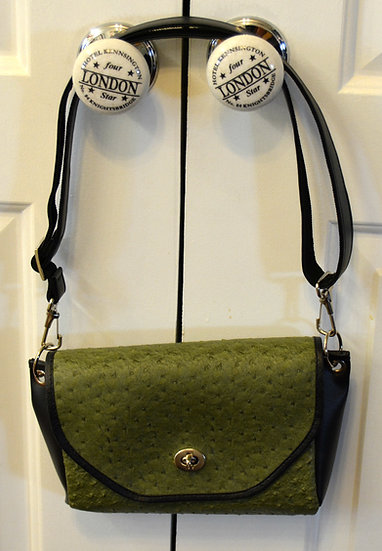 Olive Green Ostrich