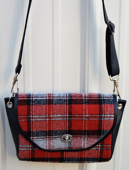 Black, White & Red Plaid