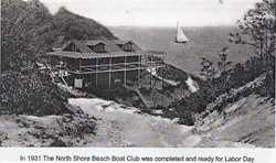 North Shore Beach Boat House