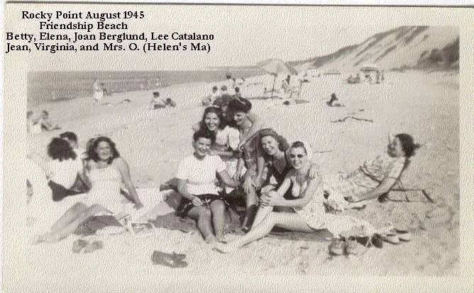 1950's Beachgoers