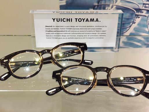 YUICHI TOYAMA. ユウイチトヤマ U-128 U-129  熊本 きくちメガネ イオンタウン田崎店