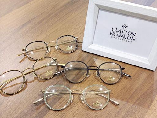 CLAYTON-FRANKLIN クレイトンフランクリン CF-606  熊本 きくちメガネ カリーノ菊陽店