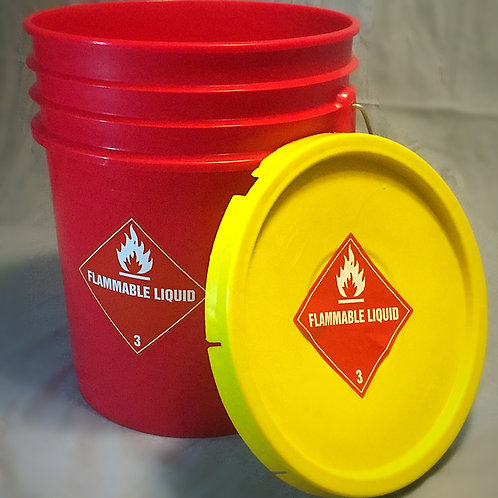Fuel Dump, Outer Bucket with Sealing Lid
