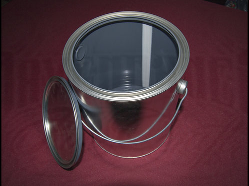 Fuel Dump 1-Gal Steel Bucket with Sealing Lid