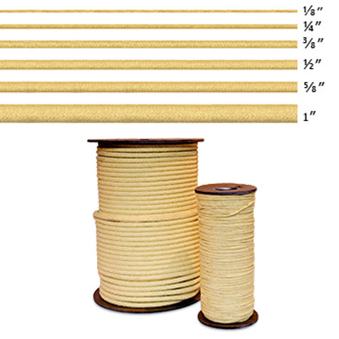 """Kevlar Rope (Kevlar Core), 1/4"""""""