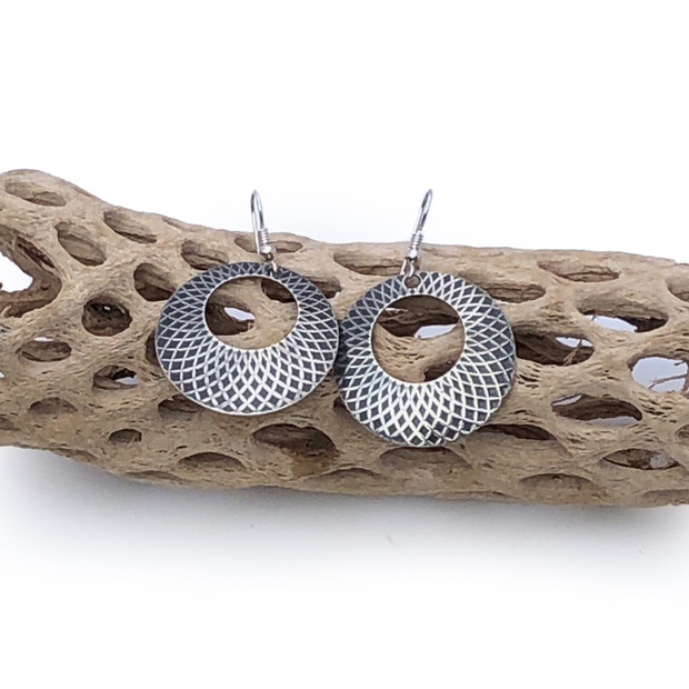 Sterling Silver Earrings - Rounds